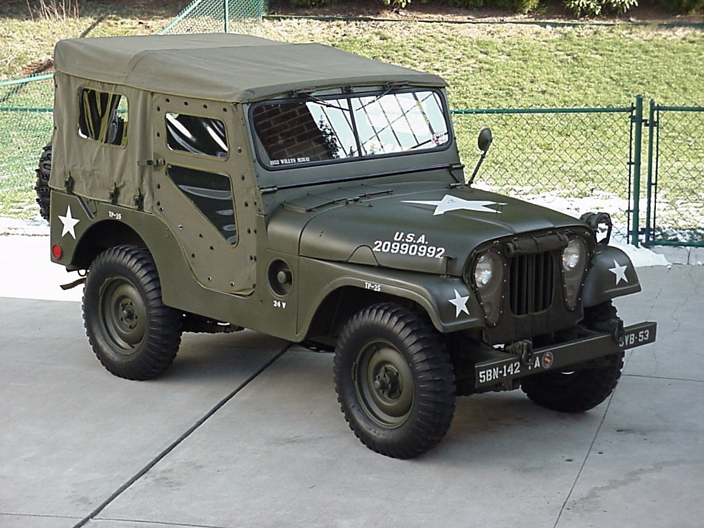 53 Willys Military Jeep Not Mine Maybe Someone Here